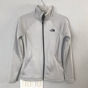 North Face Silver Jacket sized xs